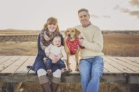 Boardwalk, Dog, paid scarf, Christmas Photos